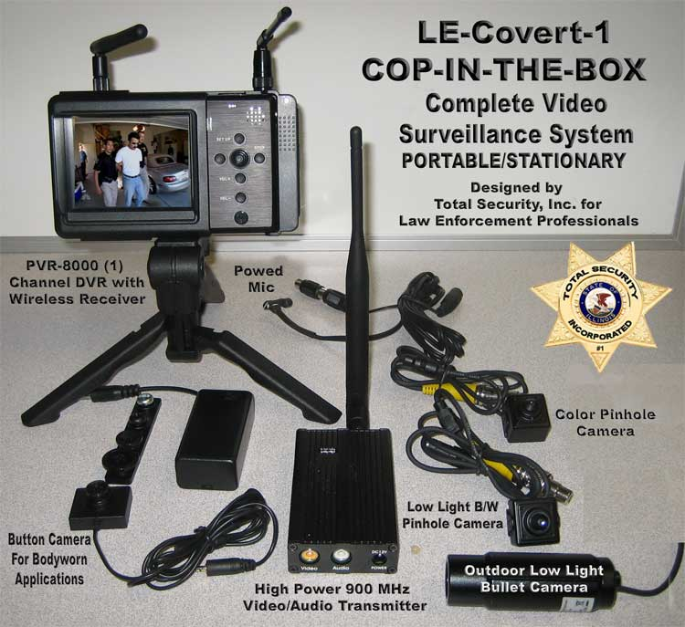Police Surveillance Cameras Law Enforcement Video Camera Cop In The Box Covert