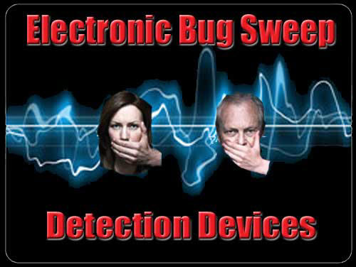 Bug Sweep and RF Detection Products, TSCM, Bug Detection, RF